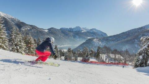 Winter Achenkirch Achensee Hochalmlifte Christlum Winterurlaub Skifahren
